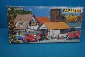 Faller-131240-Fire-House-Spritzenhaus-Kit-HO
