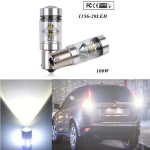 Useful-White-P21W-BA15s-1156-LED-Canbus-Backup-Reversing-Light-Reverse-Lamp-New