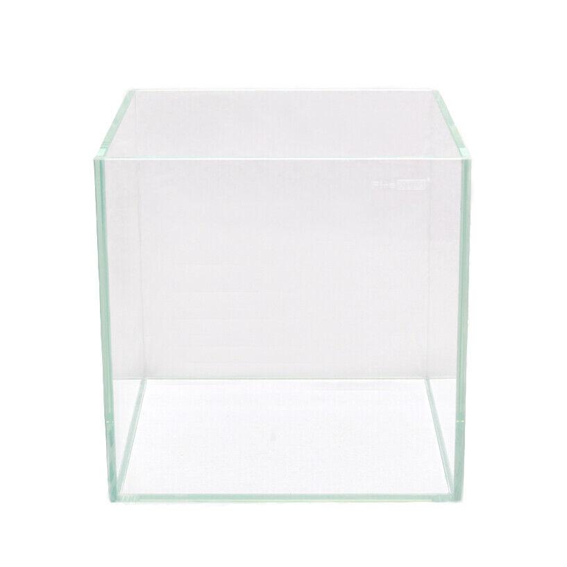 Set ACQUARIO VETRO BIANCO 16l Nano Cube Cubo ACQUARIO Betta gamberetti Nero