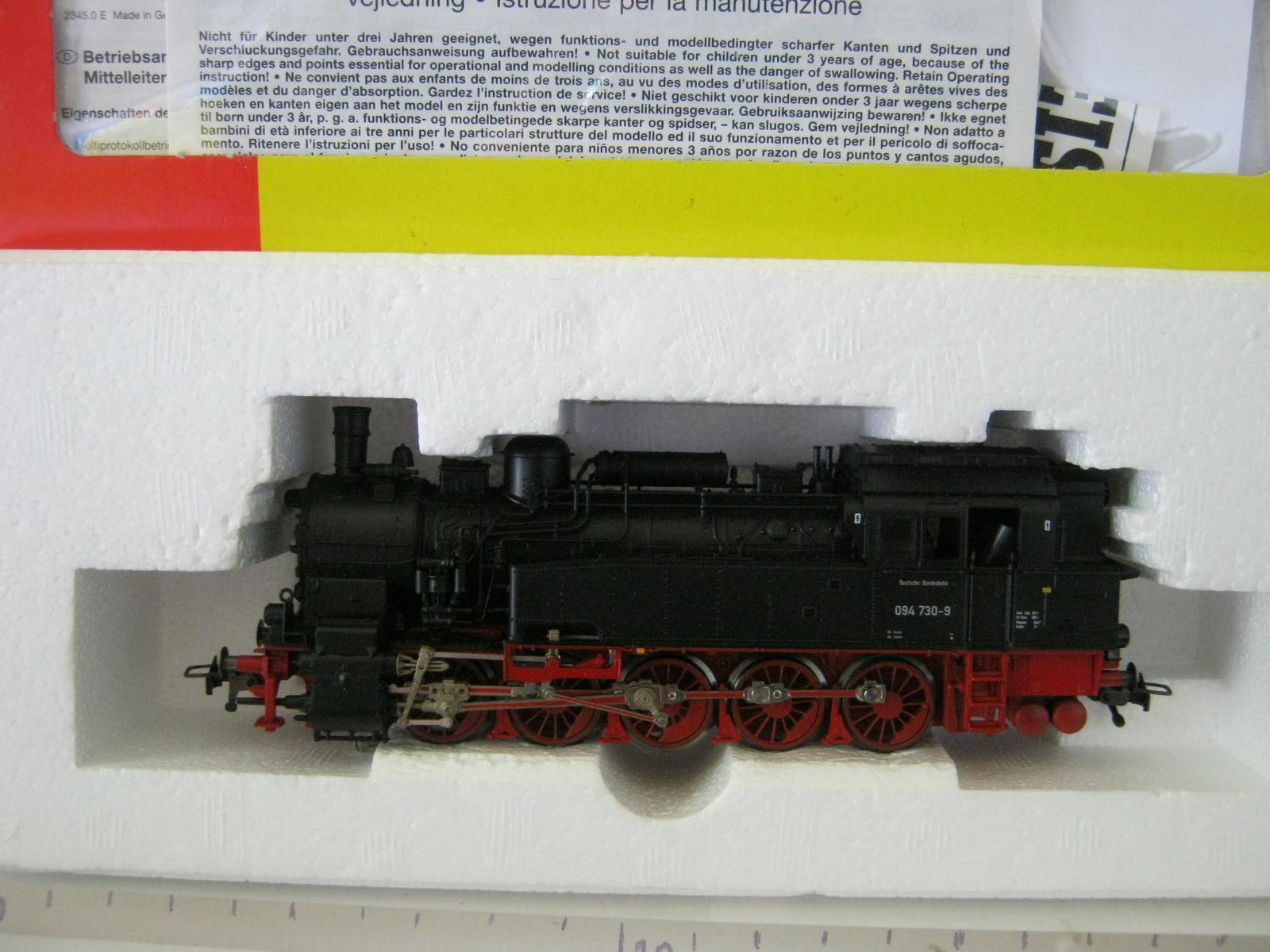 Digital Fleischmann HO AC 931094 Dampf - Lok BR 094 730-9 DB (RG 128S7 2-103)  | Fierce Kaufen