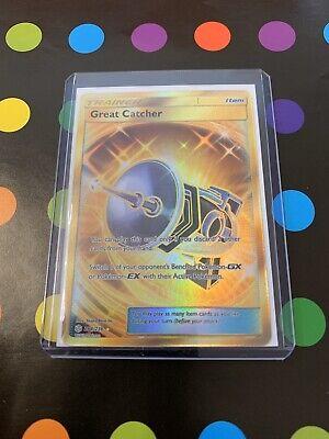 264//236 Full Art Secret Rare PTCGO Online Digital Card Great Catcher