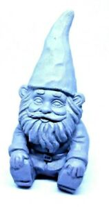 Latex-gnome-mold-plaster-cement-casting-mould-5-034-H-x-2-034-W