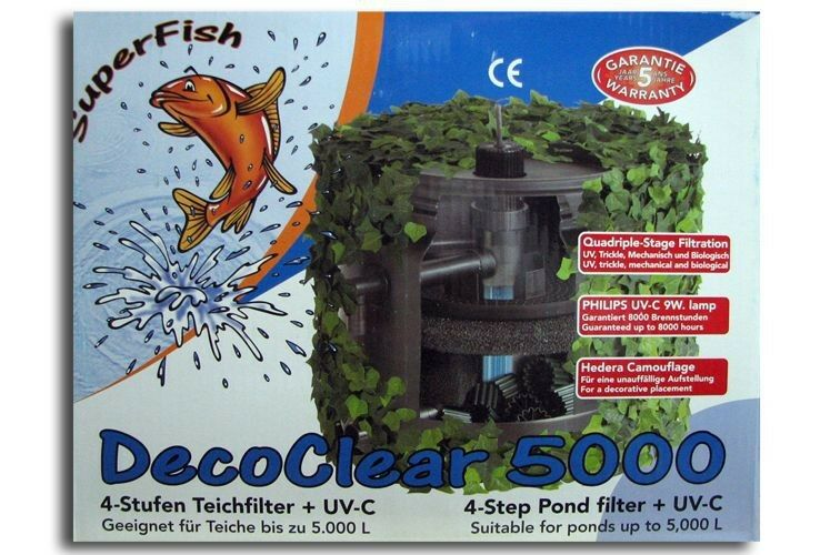 SF Filterset Deco Clear 5000 Teichfilter + UVC 9 Watt