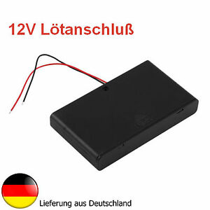 batteriehalter geh use f r 8x aa batterien o akkus 12v. Black Bedroom Furniture Sets. Home Design Ideas