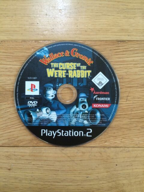 Wallace And Grommit: Curse Of Were-Rabbit for PS2 *Disc Only*