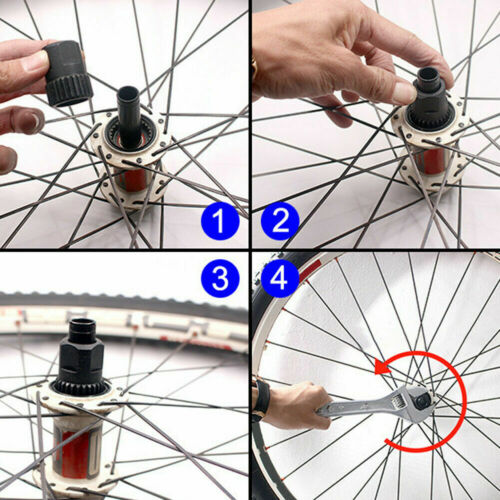 DT Swiss Three Pawl Rear Hub Lock Ring Nut Removal Installation Wheel Tool