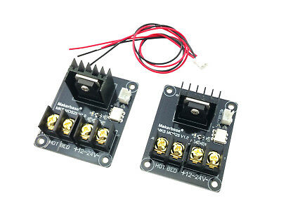 2pcs ANET A8 MOSFET Board Upgrade 3D Printer Heated Bed Power Module i3 tyjtrhf