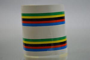Yellow Bicycle handlebar tape SHINY TAPE world champion sticker Vintage