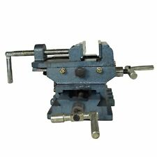 4 100mm Cross Sliding Engineer Drill Press Vice Machine Vice Hand Clamp Vise