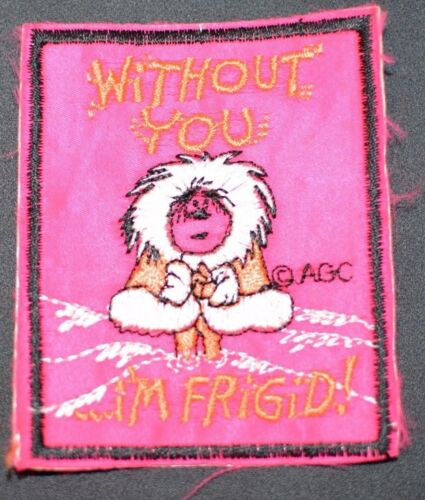 Funny Vintage Embroidered Clothing Patches AGC Licensed Cool for Backpack Jacket