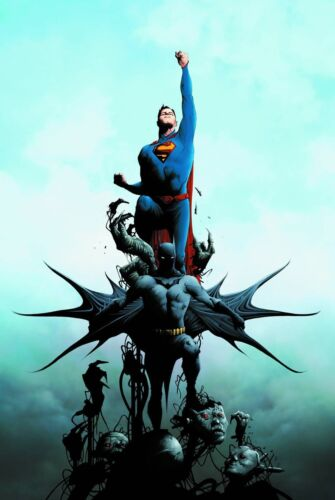 BATMAN SUPERMAN VOL #1 HARDCOVER CROSS WORLDS Greg Pak DC Comics Jae Lee HC
