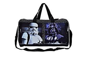 STAR-WARS-borsone-borsa-viaggio-e-sport-originale-034-Disney-034-con-Darth-Vader