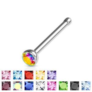 Press-Fit-CZ-Gem-Set-Ball-Top-316L-Surgical-Steel-Nose-Stud-Bone-Ring