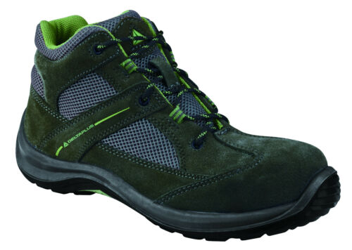Suede Cap Boots Plus Delta Virage Panoply S1p Toe Grey Safety Green Ladies Work 7OwYqCvw
