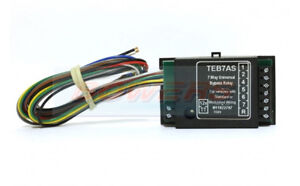 TEB7AS-12V-VOLT-7-WAY-UNIVERSAL-UPGRADE-KIT-PASS-BYPASS-RELAY-TOWBAR-WIRING