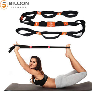 71-034-x-1-8-034-Arm-Resistance-Stretch-Band-Rope-Fitness-Exercise-Pilates-Yoga-Gym
