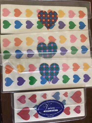 CREATIVE MEMORIES photo Safe Sticker Packs