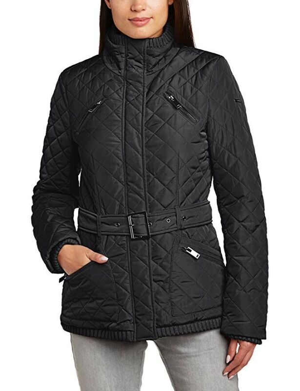 Geschickt Esprit Jacke Damen Steppjacke Gr.xs 34 Schwarz