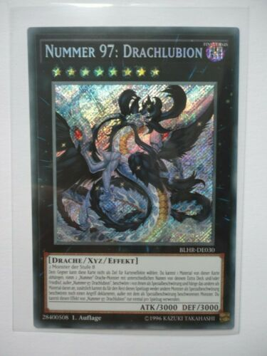 Nummmer 97 draglubion blhr-de030 Secret Rare 1 EDIZIONE