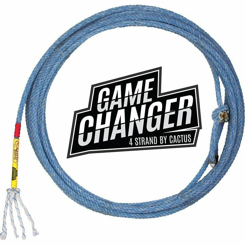 CACTUS ROPES GAME CHANGER TEAM ROPING HEAD  ROPE 4 STRAND  all goods are specials