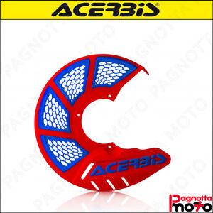 COPRIDISCO PROTEZIONE DISCO ACERBIS XBRAKE 2.0 FRONT DISC COVER ROSSO BLU
