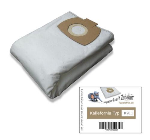 5 SACCHI Filtro Per Nilfisk ATTIX 40-01 PC INOX Sacchetto per aspirapolvere filtro a sacco