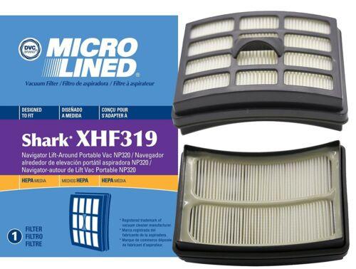 DVC Shark Navigator HEPA Filter Lift-Around Portable Vacuum NP319 /& NP320 XHF319