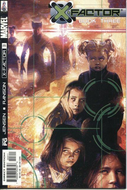 X-Factor Book #3 Marvel Comics September Sep 2002 (VFNM)