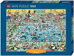 Heye 1000 Piece Jigsaw Puzzle - Cool Down! HY29904