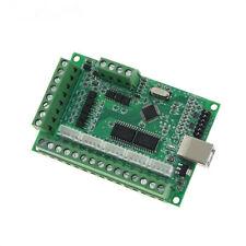 Am9587 Dl45 5 Axis Usb Mach3 Cnc Breakout Board 100khz Driver Motion Controller