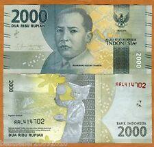 INDONESIA 2000 RUPIAH UNC # 399