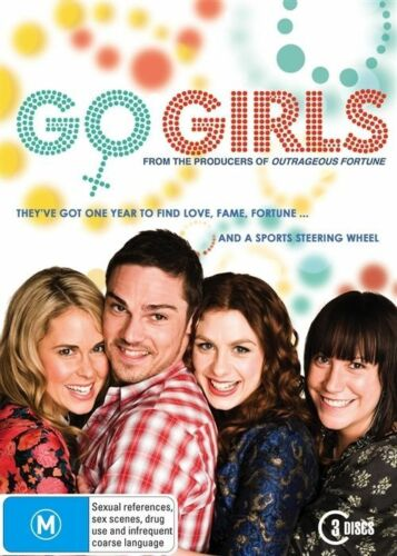 1 of 1 - Go Girls : Series 1 (DVD, 2010, 3-Disc Set) New & Sealed