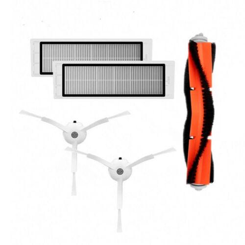 Side Brush Hepa Filters Main Brush Set Fit For Xiaomi Mijia 1S Roborock S6 Robot