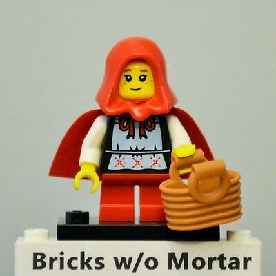 Genuine Lego minifigures The Grandma/'s Vistor from series 7