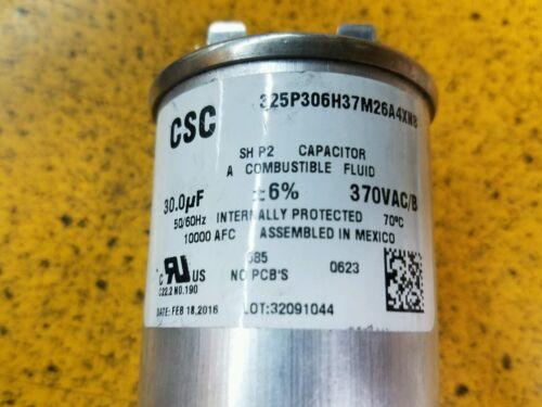 RUN CAPACITOR 30 MF 370 VAC 50//60 HZ CSC