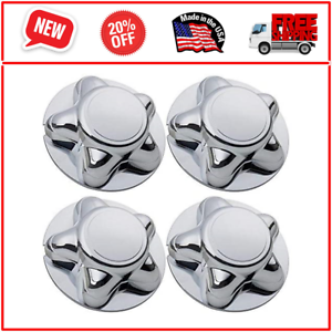 """4pc 7/"""" For Ford F150 97-03 Expedition Chrome Wheel Hub Cover Center Caps Durable"""
