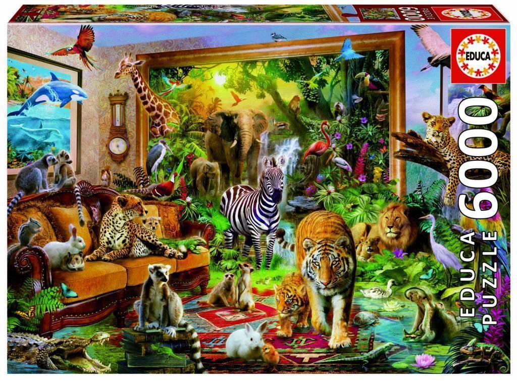 EDUCA JIGSAW PUZZLE ENTERING THE BEDROOM JAN JAN BEDROOM PATRIK KRASNY 6000 PCS  17679 c0c6e1