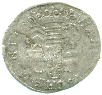 1/2 Batzen 1668 Mg Weich Und Leicht Hanau-münzenberg Münzen