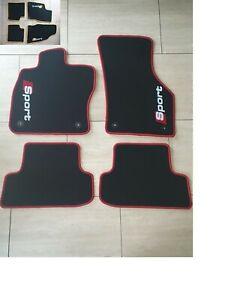 CARBON Ellipsen farbe wählbar Aut Audi A3 = S3 4 trg 8L 09.00-03.03 Fußmatten