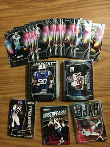 2019-Panini-Prizm-Football-Inserts-Cards-You-Pick-Hype-Brilliance-Emergent-BH