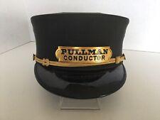 Old Rare Pullman Conductor Uniform Hat Vintage Railroad Train Cap