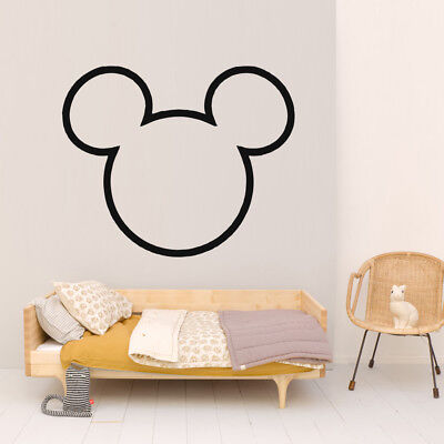 Vinyl Sticker Mickey Mouse Minnie Disney Cartoon Decor Nursery Wall Decal O154 Ebay