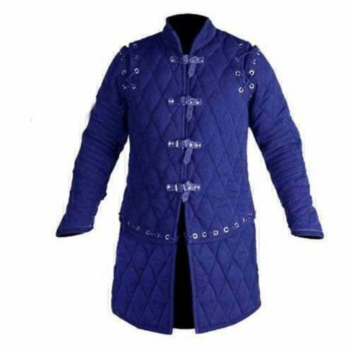 Gambeson Halloween Thick Padded Cotton Medieval DRESS Jacket Armor COSTUMES