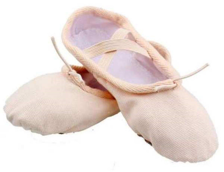 Canvas Ballet Yoga Gymnastic Shoes Split Sole