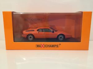 Maxichamps 940025020 BMW M1 1979 orange Maxichamps New