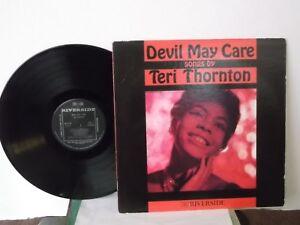 Teri-Thornton-Riverside-034-Devil-May-Care-034-Japan-LP-mono-insert-jazz-vocals-Mint