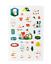 miniature 6 - Official BTS BT21 Green Planet Clear Sticker +Freebie +Free Tracking KPOP
