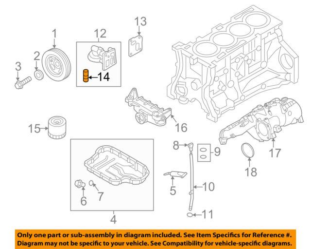 Hyundai OEM 10-14 Genesis Coupe 2.0l Engine-oil Filter Housing ...
