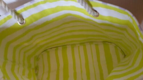 Lolita Ou De Coton Shopping Plage Sac Toile Lempicka En Réversible rO7qIr