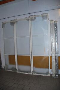Dettagli su Porte Rimadesio Scorrevoli bianche altezza 250 cm larghezza 225  cm